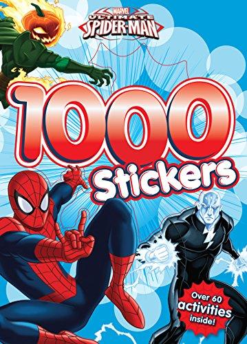 Marvel Spider Man 1000 Stickers