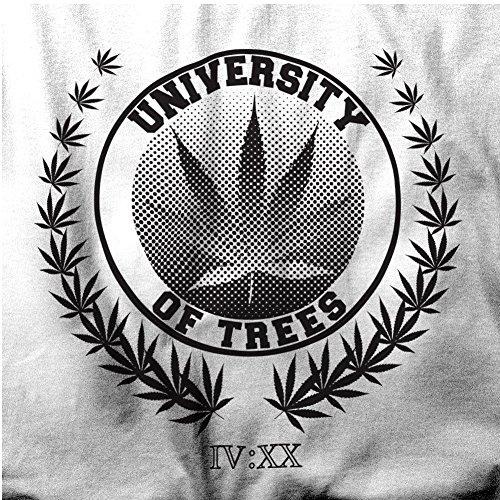 University of Trees Ents Blunts Cannabis Rauch Herren T-Shirt Black ...