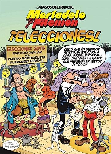 Mortadelo y Filemón ¡Elecciones! M. Humor Nº 179. (MAGOS DEL HUMOR)