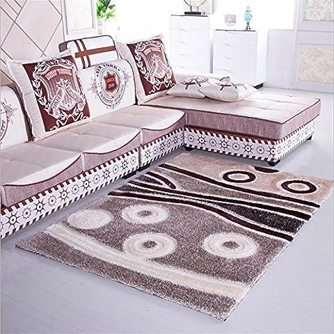New day-Cifrado super suave manta alfombra Corea del sur alfombra de seda seda stretch dormitorio sala de estar estudio alfombra , 2 ,