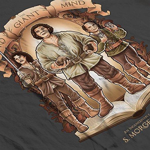 The Princess Bride An Inconceivable Story Men's T-Shirt Charcoal