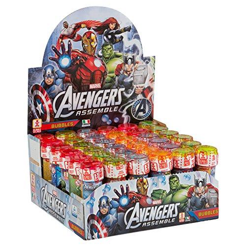 61 UhMwDXcL - ColorBaby - Caja pomperos Avengers con 36 Unidades de 60 ml (24608)