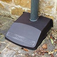 Strata Drain Tidy / Cover in Black - Blocks leaves and garden debris from blocking drain