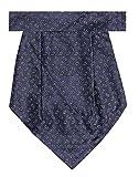 Tiekart Blue Silk-Plain Cravat
