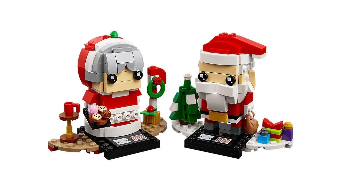 LEGO Herr und Frau Weihnachtsmann - Wünsche Frohe BrickHeadz ...