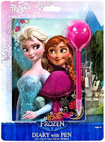 Disney Frozen Diary & Pen Set Anna & Elsa | Léger