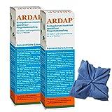2 x 500 ml Ardap Ungezieferspray Konzentrat mit Langzeitwirkung + Microfasertuch