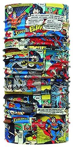 Superheroes original buff foulard multifonction pour adulte taille unique Multicolore - Comics