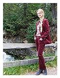 Brigitte von Boch Femme - Maxton Pantalon en velours bordeaux - style Jodhpur