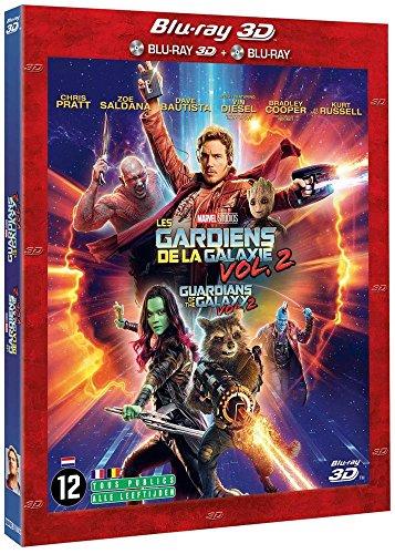 Les Gardiens De La Galaxie Vol 2 [Blu-ray] [Combo Blu-ray 3D + Blu-ray 2D]
