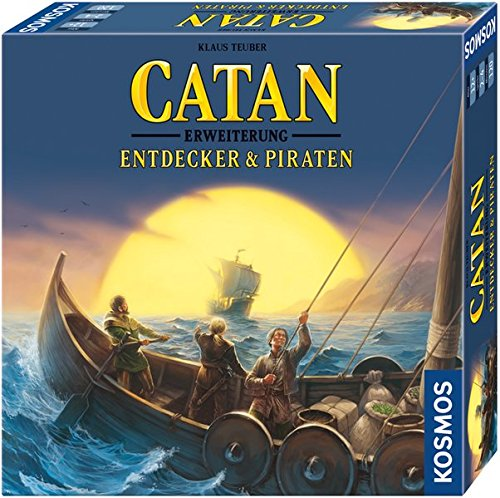 Kosmos Catan - Entdecker & Piraten, Strategiespiel