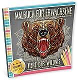 Malbuch für Erwachsene: Tiere der Wildnis (Ausmalbuch zum Träumen & Entspannen)
