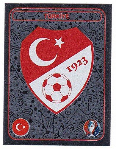 Panini EURO 2016 France - Sticker #350 (Türkei, Wappen)