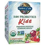 RAW Probiotika, Kinder, 3,4 Unzen (96 g) (Eis) - Garten des Lebens