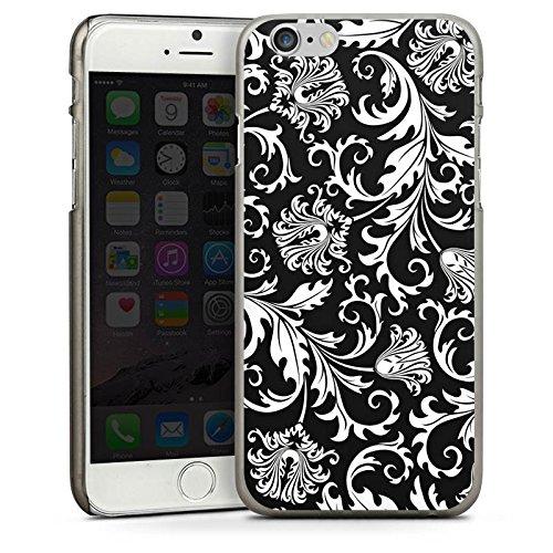 Apple iPhone 5 Housse Étui Silicone Coque Protection Ornements Mandala Motif CasDur anthracite clair