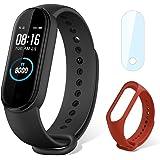 Xiaomi Band 5 Pulsera Inteligente de Actividad, Monitor de Ritmo Cardíaco, Salud Femenina, Smartband 5ATM a Prueba de Agua, 1