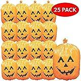 The Twiddlers Paquete de 25 Sacos de Hojas desechos de jardín para Halloween - Bolsas Ideal para Decoración y Fiestas de Halloween - Accesorios para Decorar Halloween