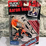 OEM Flick Trix 1/50 Scale Bike Toys BICYCLE MOTOCROSS BMX Diecast Bike With PVC Cycling Team Star Action Figure Model Toy Play Set (SUNDAY Team)