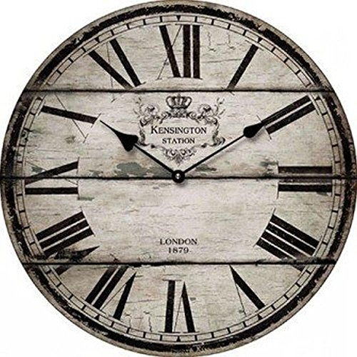 OROLOGIO DA PARETE DESIGN LONDON 1879 SHABBY CHIC - Tinas Collection