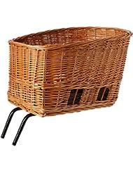 Basil Pasja mimbre cesta sistema Elba perro - negro, medio/45 cm
