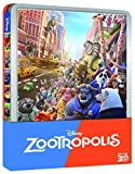 Locandina Zootropolis (Steelbook)  (Blu-Ray 3D / Blu-Ray)