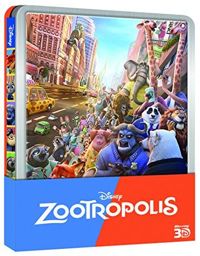 Zootropolis (Ltd Steelbook) (3D) (2 Blu-Ray+Blu-Ray 3D) [Italia] [Blu-ray] 61 Vy2JBbiL