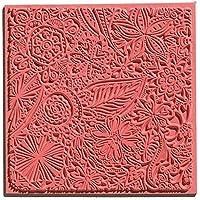 efco 9500505 Texturmatte, Naturkautschuk, 9 x 9 x 0,3 cm, braun