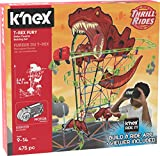 K'Nex 27146 Thrill Rides, T-Rex Fury Roller Coaster Building Set, Ages 9+ Virtual