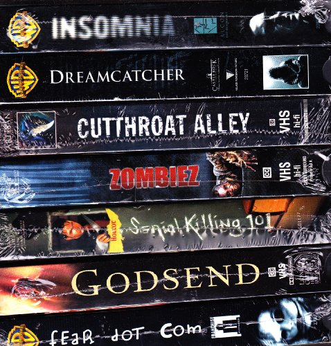 Insomnia , Dreamcatcher , Cutthroat Alley , Zombiez , Serial Killing 101 , Godsend , Fear Dot Com : Horror Box Set