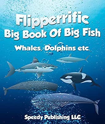 Flipperrific big book of big fish whales dolphins etc for Big fish games phone number