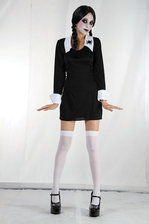 creepy school girl halloween adult fancy dress costume bristol novelty amazoncouk toys u0026 games