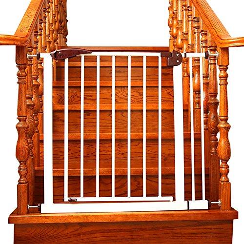 Barrière de sécurité Portes De Bébé pour Portes Pression Fit 65 À 152cm Réglable Chiot Pet Parc pour Porte De Porte D'escalier en Fer Blanc Sécurité Intérieure Porte (Taille : 115-117cm)