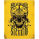 Sicario (Limited Edition Steelbook) [Blu-ray] UK-Import, Sprache-Englisch.