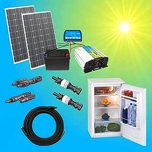 200w Solaranlage Kuhlschrank Komplettpaket 220v Tuv Amazon De Elektronik