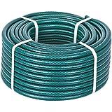 HydroSure Braided Garden Hose Pipe 13mm 100m - Green