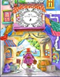 Nice Little Town 8 - Adult Coloring Book (Stress Relieving Coloring Pages, Coloring Book for Relaxation)