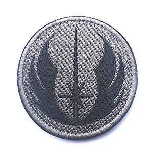 Aquiver Star Wars Jedi ordre brodée Fermeture Patch Airsoft Paintball Patch