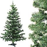 Bada Bing Weihnachtsbaum Tannengrün DELUXE Mit Ständer Tannenbaum Christbaum Baum künstlich 180 cm Deko Weihnachten Hochwertig Edel