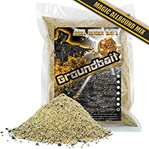 Angel Berger Groundbait Grundfutter Angelfutter verschiedene Sorten (Magic Allround Mix)