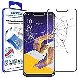 ebestStar - Verre trempé Asus Zenfone 5 ZE620KL, Zenfone 5Z ZS620KL [Dimensions PRECISES de votre appareil : 153 x 75.7 x 7.9 mm, écran 6,2''] - Film protection écran en VERRE Trempé - Vitre protecteur anti casse, anti-rayure [Note Importante Lire Descr