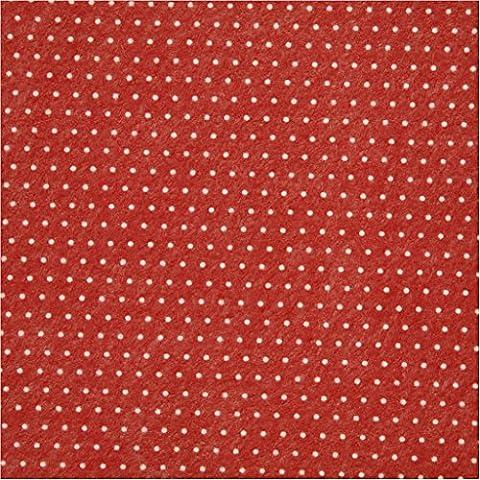 Vivi Gade 45 cm x 1 m Copenaghen Dots Design feltro carta