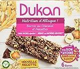 Dukan Barres de Son d'Avoine Saveur Chocolat-Noisette 150 g