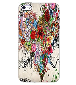 APPLE IPHONE 4 FLOWERS Back Cover by PRINTSWAG