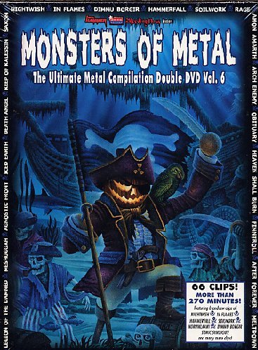 Monsters Of Metal 6 (2 Dvd) (Limited Digipack Edition)