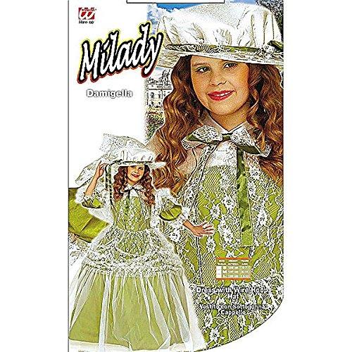 üm - Klein - Alter 5-7 - 128cm (Milady Kostüm)