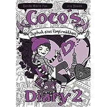 Coco`s Diary 2 - Tagebuch eines Vampirmädchens: Mädchenbücher ab 8 (Comic Roman für Mädchen)