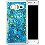"""Coque Samsung Galaxy Grand Prime Silicone Nnopbeclik® Paillettes Briller Style Backcover Doux Soft Housse pour Samsung Galaxy Grand Prime Coque Transparente """"SM-G530F"""" (5.0 Pouce) Antichoc Protection Antiglisse Anti-Scratch Etui - [Bleu2]"""