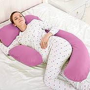 Novo 2.5Kg Pp Cotton Comfort Pillow, Pink - 145X80X25Cm, Free Size