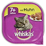 Whiskas Schale 7+ mit Huhn, 100 g