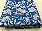 #5: 2.5 Meter Hand Block Print Fabric Cotton fabric for garments Jaipuri Dress Dabu Fabric 27